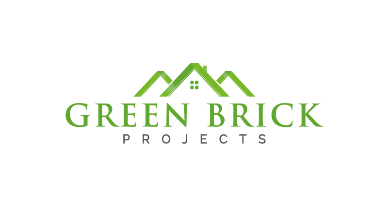 Green Brick Projects Logo Design