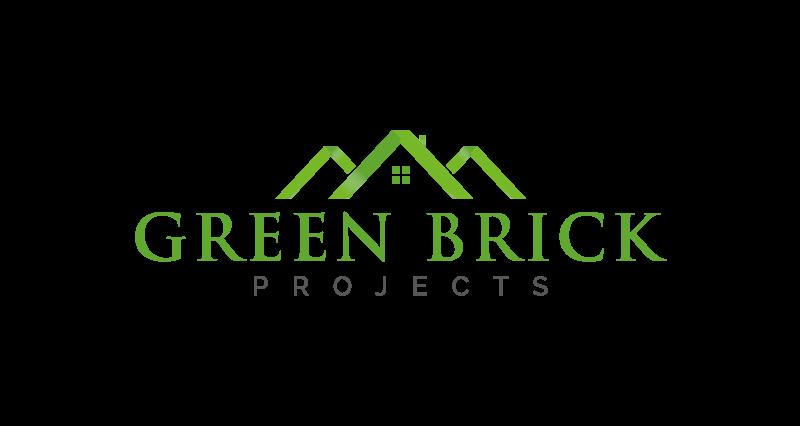Green Brick Projects Logo Design