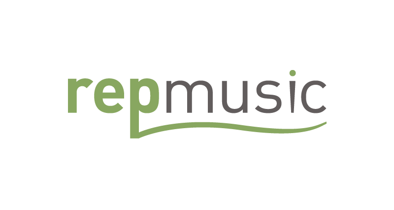 REP Music Logo Design