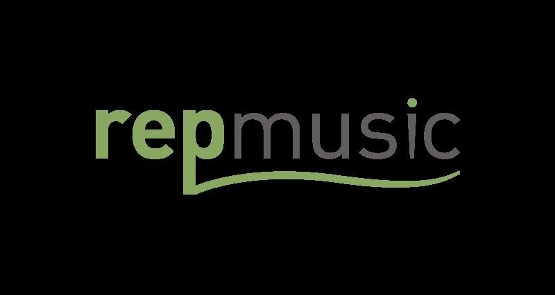 REP Music Logo Design