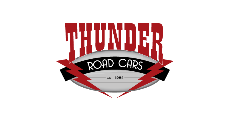 Thunder Road Cars Logo Design