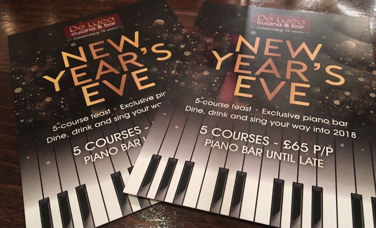 DeLuca New Year's Eve Promotion