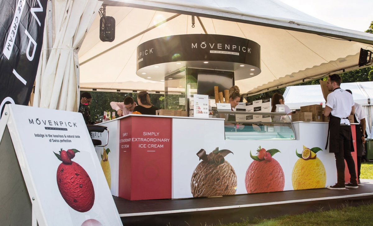 Movenpick Trade Stand Design