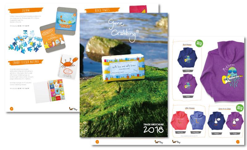 Gone Crabbing Trade Brochure 2017