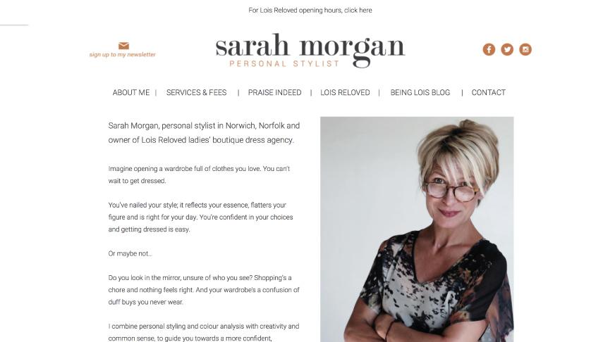 Sarah Morgan Website