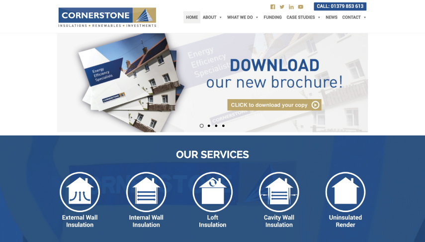Cornerstone Website Design