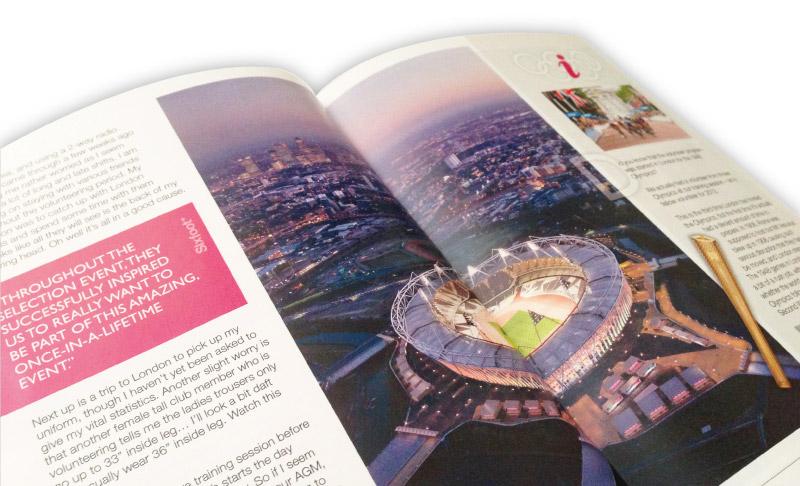 6ft Magazine spread