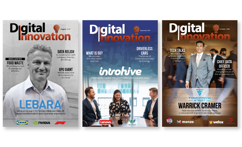 Digital Innovation Magazine Design