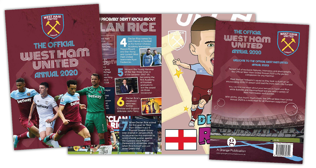 The Official West Ham United Annual 2020 Designer
