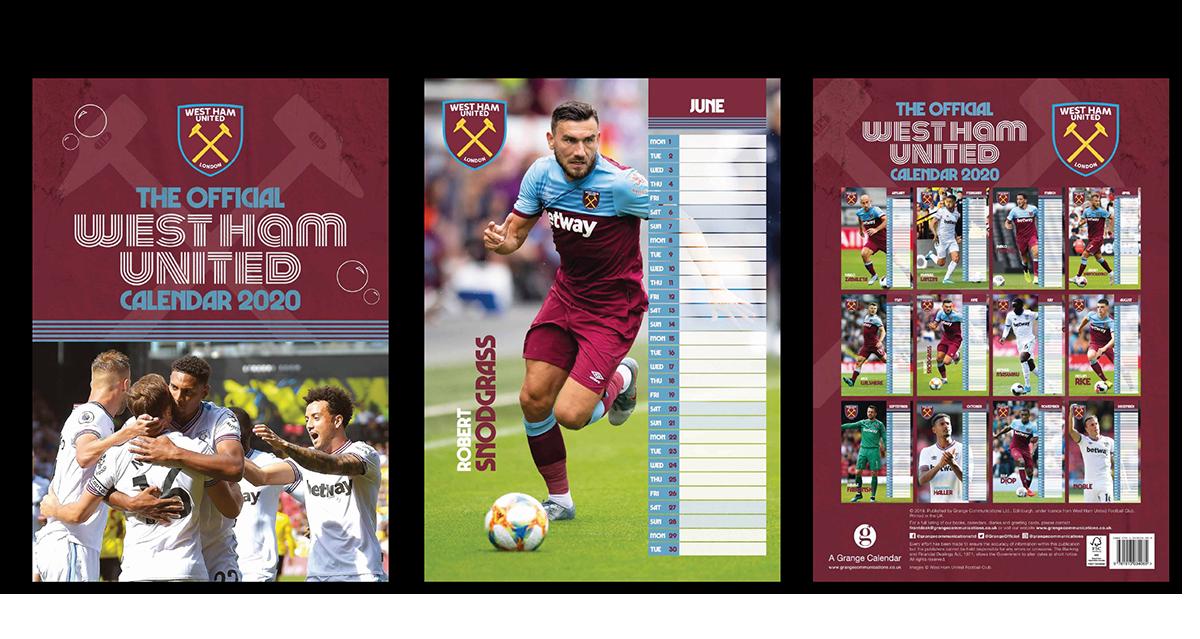 West Ham Calendar Designer